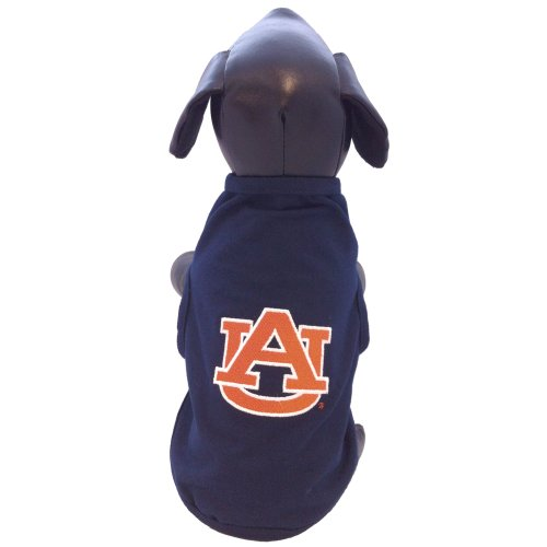 Lycra Stars - All Star Dogs NCAA Auburn Tigers Cotton Lycra Dog Tank Top, X-Small