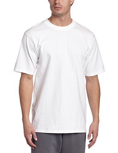 Soffe Men's Heavy Weight Cotton T-Shirt White X-Large