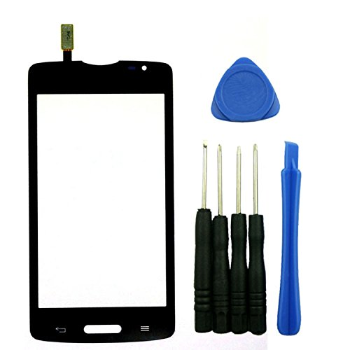 Touch Screen Panel Digitizer Glass Lens Replacement for LG L80 D375 D373 Black