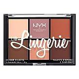 Nyx Professional Makeup Paleta De Sombras Lid Lingerie, 8.2 g