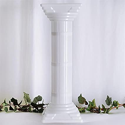 Amazon Balsacircle 4 Pcs 32 Tall White Roman Empire Columns