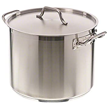Pinch SP-24 24 qt Stainless Steel Stock Pot w Cover