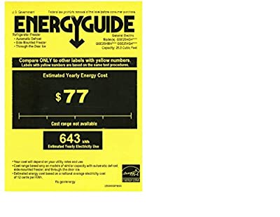 GE GSE25HSHSS 25.4 Cu. Ft. Stainless Steel Side-By-Side Refrigerator - Energy Star