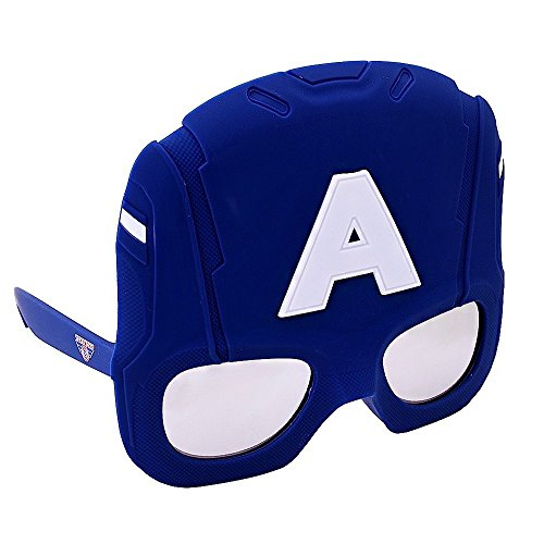 Captain America Earth X Costumes - Sunstaches Large Captain