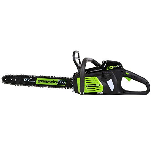 Depot Hedge Home Trimmer (Greenworks PRO 18-Inch 80V Cordless Chainsaw, Battery Not Included GCS80450)