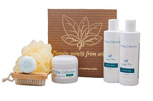 special-home-spa-6-piece-bath-and-body-gift-sets-with-body-lotion-shower-gel-sugar-scrub-loofah-bath