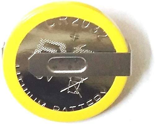 Divye Electronics CR2032 with Leg 3V Button Coin Cell  10pcs