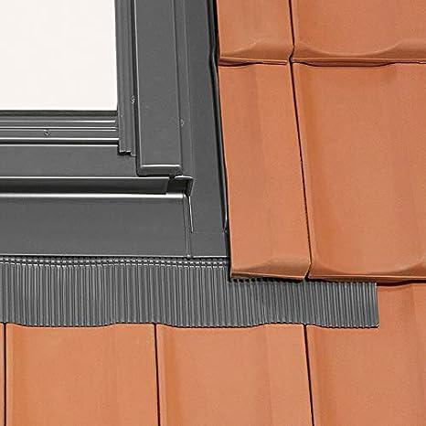 kombiniert mit Universal-Eindeckrahmen Kiefernholz 55 x 78 cm Solstro DPX B500 Dachfenster mit schmalem Rahmen C2A