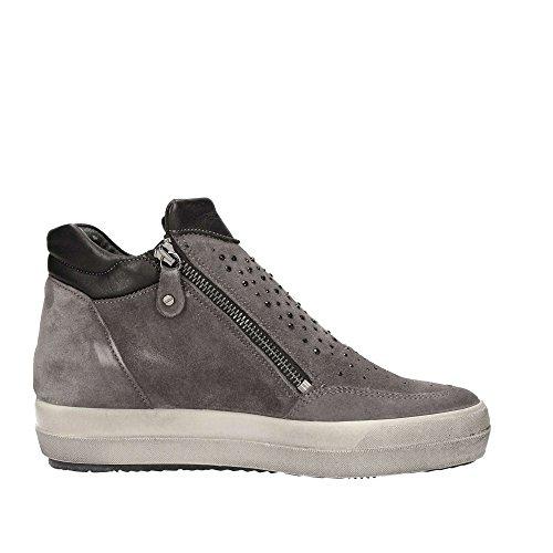 Sneakers per donna Igi&Co in scamosciato grigio modello basso (taglia35)
