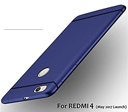 RTCO Soft Back Case Cover for Xiaomi MI Redmi 4   Royal Blue Mobile Phone Cases   Covers