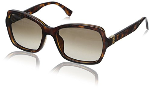 Fendi Women's FF0007 Sunglasses, Havana