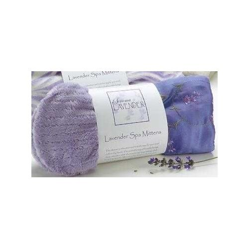 Sonoma Lavender Spa Mitts - Embroidered Lavender (Mitts Spa)
