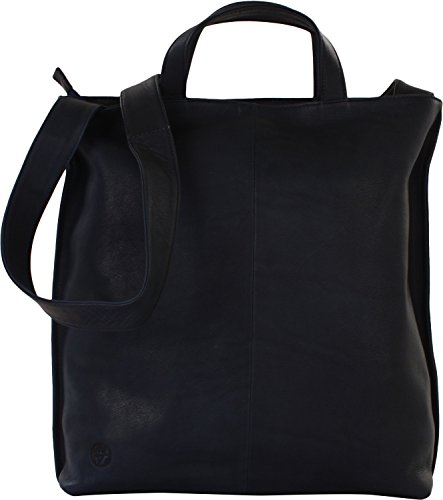 Harolds Charcoral borsa tote pelle 34 cm blau