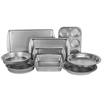 EZ Baker AZ999T Bakeware Set, Silver
