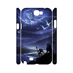 C-EUR Lion King Customized Hard 3D Case For Samsung Galaxy Note 2 N7100
