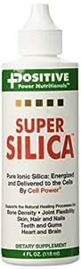 Amazoncom Positive Power Nutritionals Super Silica 4oz Health