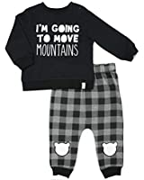 Silly Apples Baby Unisex Cotton Blend 2-Piece...