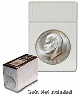 One BCW Slab Coin Holder with White Silver Eagle Size Insert 99 Cent Store