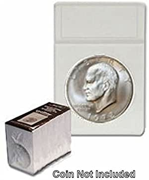 25 BCW DISPLAY SLABS Coin Storage Holder Archival Stamp Collectible Clear Slab