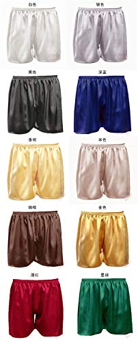 Spiaggia Boxer m Uomo Taglia Seta In Availcx Da Pantaloni Grande Brown Pantaloncini 19 Seta 100 Pigiami M qSxw0p