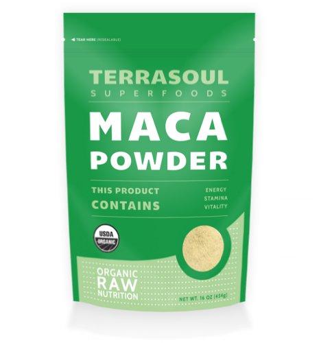 Terrasoul Superfoods poudre Maca (biologique), 16 onces