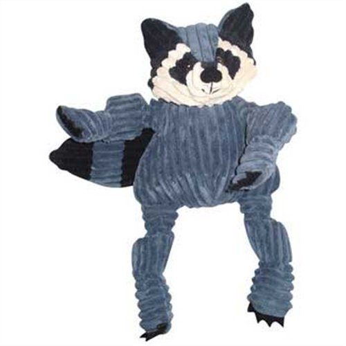 HuggleHounds Knotties Raccoon Dog Toy – Large, My Pet Supplies