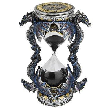 (Dragon Hourglass Sculpture)
