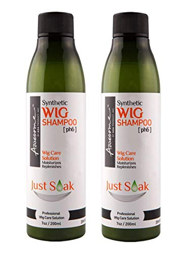 Awesome Synthetic Wig Shampoo Just Soak / 7 oz (Pack of 2)