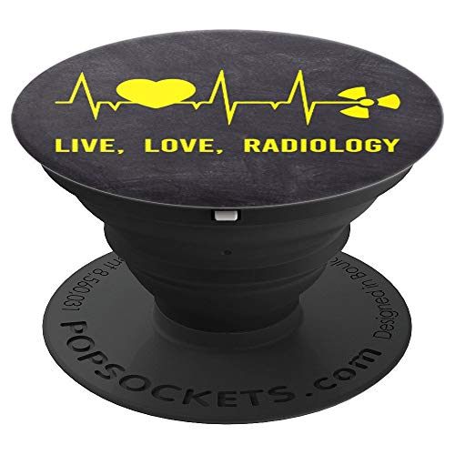 Cute Live Love Radiology Funny X-Ray Tech Technician Gift - PopSockets Grip and Stand for Phones and - X-ray Funny