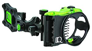 IQ Bowsights 3-Pin Micro Bowsight with Retina Lock Technology,Left Hand