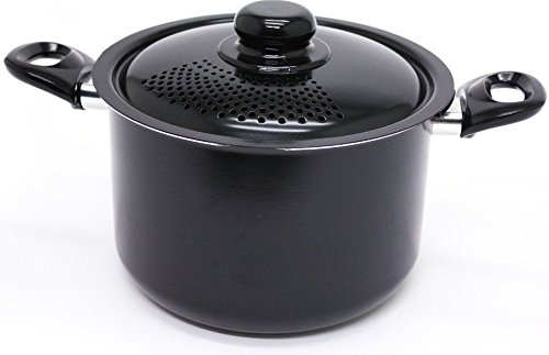 Starfrit 034171-002 Everyday Basix Sauce Pans With Perforated Locking Lid, 6 Quart