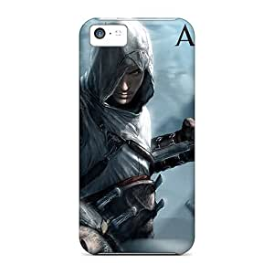Best Hard Phone Cover For Iphone 5c With Unique Design High-definition Assassins Creed Image JohnPrimeauMaurice