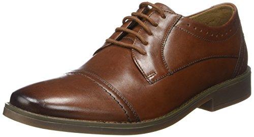 Clarks Garren Cap, Zapatos de Vestir para Hombre Marrón (Tan)