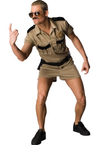 Lt Dangle Costume Adult Size Up to 44 Reno 911 Collection