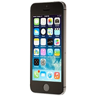 Apple iPhone 5S, AT&T, 16GB - Space Gray (Renewed)
