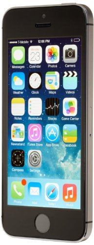 Apple iPhone 5S, T-Mobile, 16GB - Space Gray (Renewed) (5 Unlocked I Mobile Phone T)