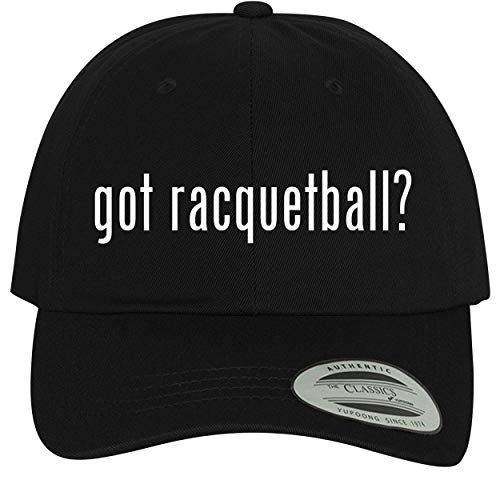 BH Cool Designs got Racquetball? - Comfortable Dad Hat Baseball Cap, Black ()
