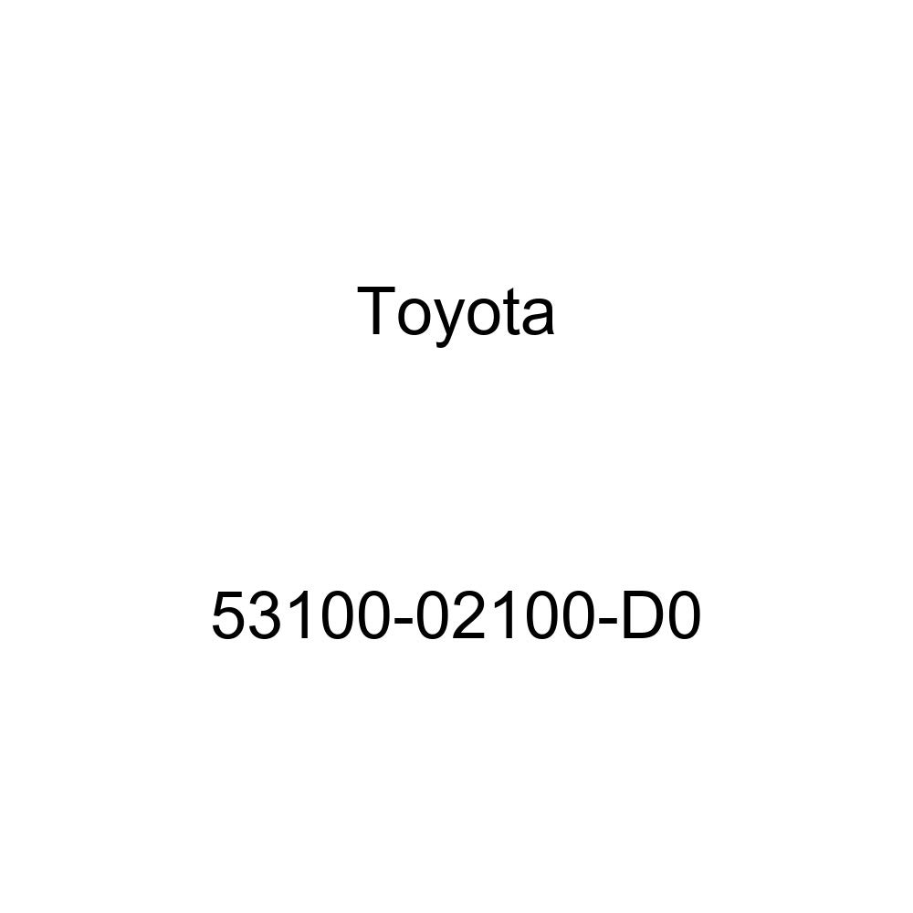 Toyota 53100-02100-D0 Radiator Grille Sub Assembly