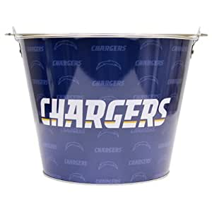 NFL Full Color Team Logo Aluminum Beer Bucket - San Diego Chargers