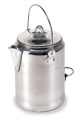 Stansport Aluminum Percolator Coffee Pot