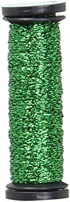 Navy Hi Lustre 12-Yard Kreinik No.4 Very Fine Metallic Craft Braid