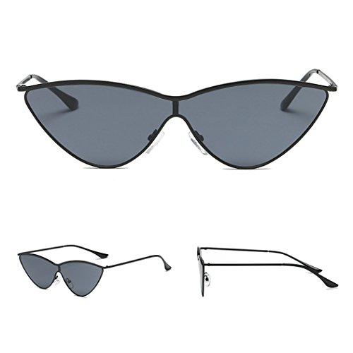 la mujeres ojo de Marco Mujer de gafas Lens de Gafas del sol lujo hombres de gato marca de de Horrenz vendimia damas Sombras las la de de UV400 de sol metal los del sol para de de las gafas espejo XqwOx6En