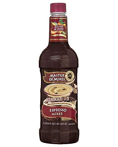 (Master of Mixes Espresso Cocktail Mixer | Espresso Martini Beverage mix | 1 Liter (33.8 Fluid Ounces))