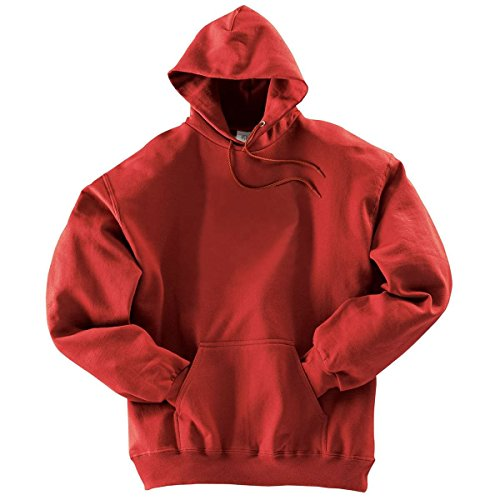 Holloway Adult 50/50 Hoodie , Scarlet, - Pullover Hooded Holloway