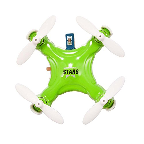 Dayan Anser Mini RC Rechargeable CX-STARS 4CH 6 Axis Gyro Quadcopter Drone with Micro Pocket UFO LED  (Green)