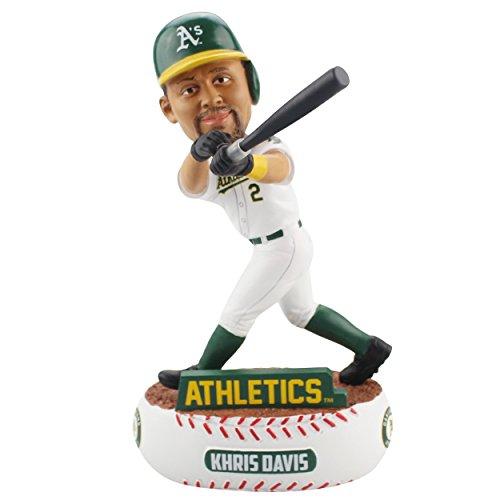 (Khris Davis Oakland Athletics Baller Special Edition Bobblehead MLB)