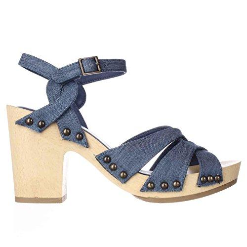 US Heel Blue 7 American Rag Cassidy Women Platform xqnZvwW8pH