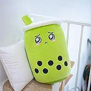 Zzlush Plush Doll Figurine Toy Pet Pillow Animal, Cute Cartoon Bubble Tea Cup Plush Toys Stuffed Funny Food Bo