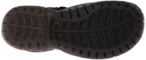 Crocs Swiftwater Sandal M Sandali Sportivi, Uomo Marrone (Espresso/Espresso)