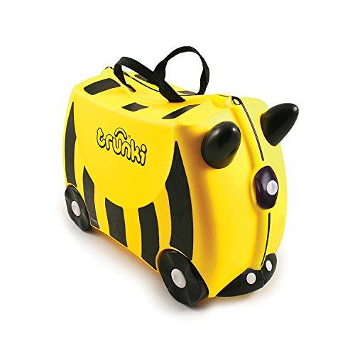 Trunki - Bernard the Bee (Yellow) Rolling Luggage - Kids Suitcase (1040)